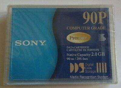 NEW Sony DG90P DDS1 2/4GB  4901780221080 4MM SEALED  DAT DSS DG 90 P