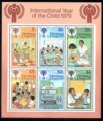Trinidad & Tobago - International Year Of The Child 1 - Foglietto Nuovo - FM106