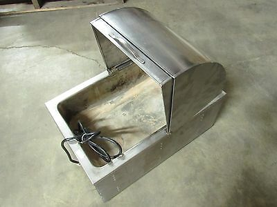 "Nemco Food Warmer Full Size Pan 22-1/2"" X 14-1/2"" X 10-1/4"" (Outside Dims)*poor*"