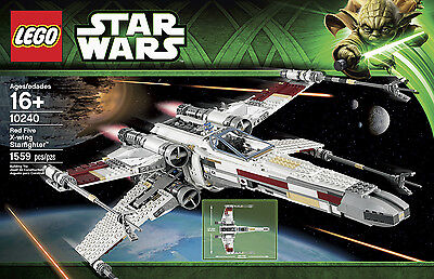 LEGO Star Wars - Red 5 X-Wing Starfighter (10240) - Brand NEW & SEALED