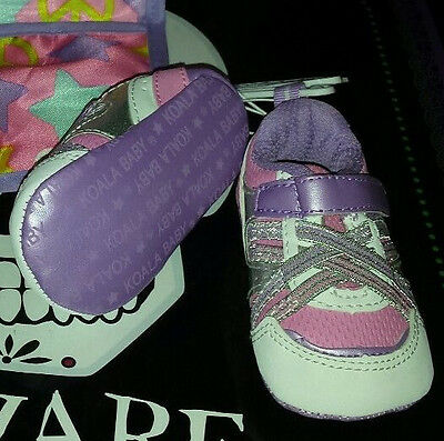 BABY Girls Size 2 Pink & purple  Shoes