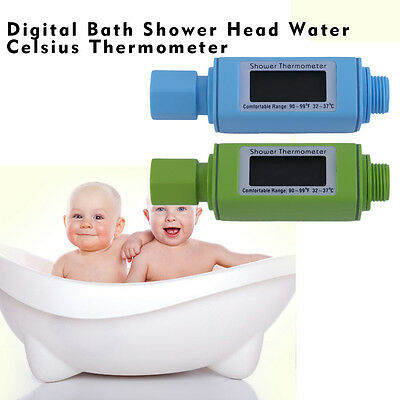 Digital Bath Shower Head Water Temperature 0~69 Degree Celsius Thermometer AO