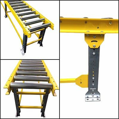Heavy Duty HD5-150P-PT1000-3M ¦ Steel Pallet Conveyor In Various Colours