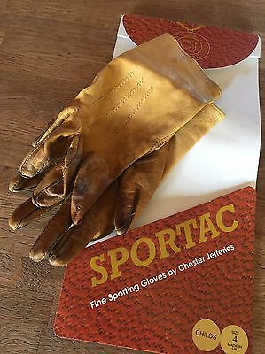 Child's Leather Show Gloves