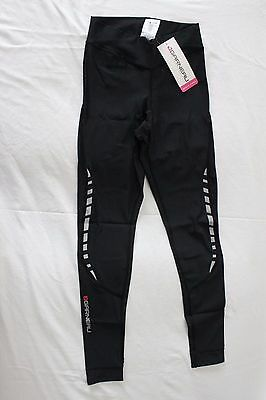 New Louis Garneau Women's Mat Ultra Cycling Bike Black Tights Medium Black NWT