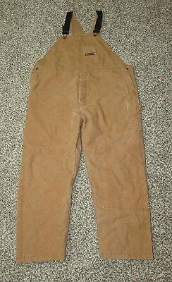 Men's Condor Insulated Work Coveralls Overalls Bib Size 44x29