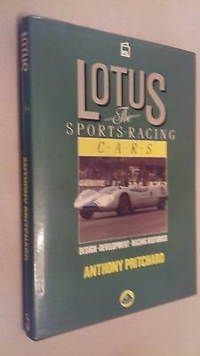 LOTUS - THE SPORTS RACING CARS - Anthony Pritchard