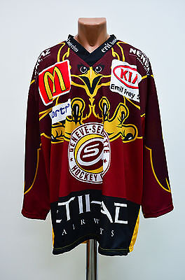 Geneve-Servette Switzerland Ice Hockey Shirt Jersey Interhockey Swiss