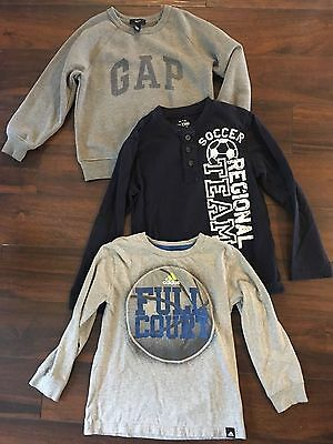 lot of clothes boys size 6/7 Gap childrens place Adidas