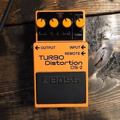 Boss Turbo Distortion DS-2 Guitar Pedal