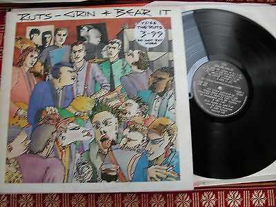 1980 original vinyl LP THE RUTS GRIN & BEAR IT   V2188