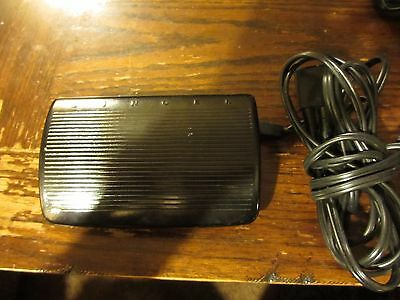 SINGER Sewing Machine Foot Control Pedal Speed Motor Controller 103434-001 3 Pin