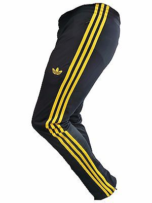 Adidas Trainings Fitness Sport Jogging Short Originals Hose Blau Gelb Gr S M