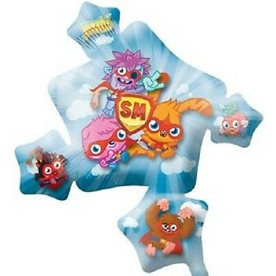 """Pack of 5 Moshi Monster Super Shape 32"""" Helium Foil Balloons - Party Balloon"""