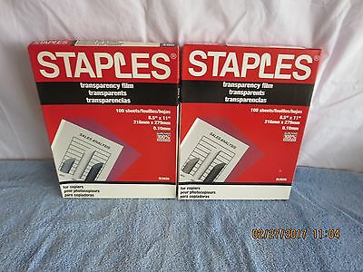 STAPLES TRANSPARENCY FILM SL5039 - 223 SHEETS free shipping