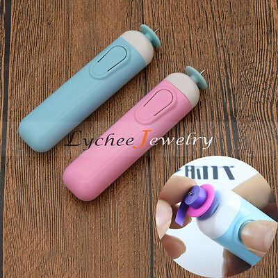DIY Electric Quilling Pen for Rolling Paper Craft Origami Curling Tool Free Post