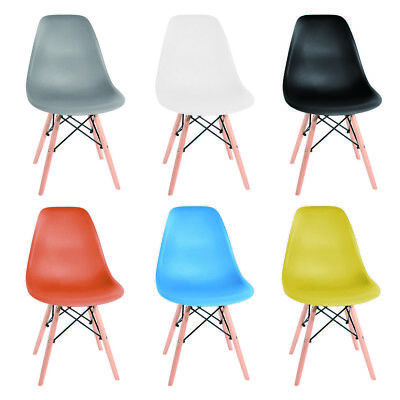 Eiffel Inspired Style Retro Vintage Plastic Dining Office Garden Lounge Chair