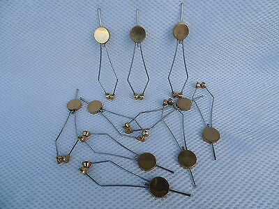 10x Flared Disc Fly Tying Bobbin Thread Holder..... Fly Tying Tools / Material.