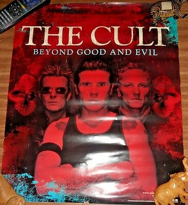 Vintage THE CULT Beyond Good and Evil Poster