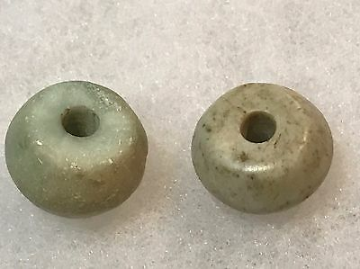 R16 Colorful Group Mayan Stone Beads Pre-Columbian  Ancient Archaic Olmec Toltec