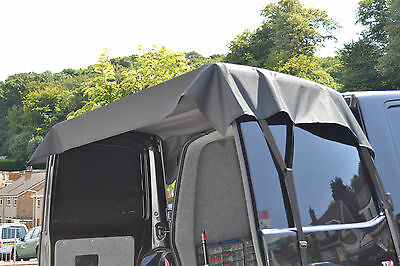 Ford Transit Connect Van (2002 - 2013) Rear Doors Awning/cover