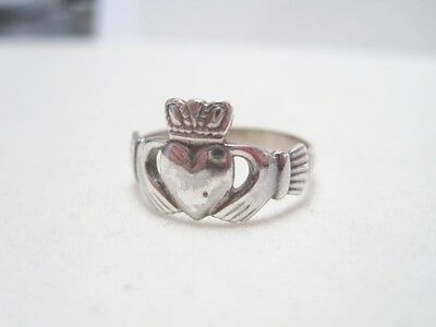 Sterling Claddagh Ring Petite Made in Ireland