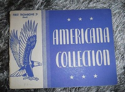 Americana Collection-First Tombone - By Rubank Inc -Vintage 1942