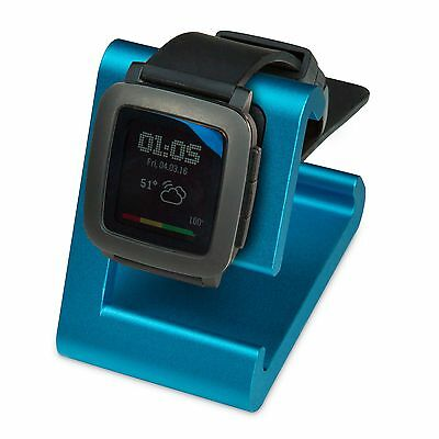 REFURBISHED TimeDock Pebble Time Dock for Charging, Stand - BLUE