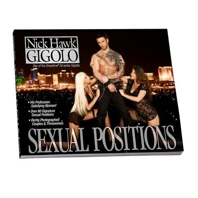 New Adult toys Nick Hawk Gigolo Sexual Positions Book