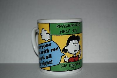 1958 Peanuts Snoopy  Charlie IF Everyone Agreed With Me They'd All Be Right Mug