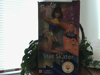 2002 OLYMPIC STAR ICE SKATER BARBIE DOLL~NEW IN THE BOX~MICHELLE KWAN~Christmas!