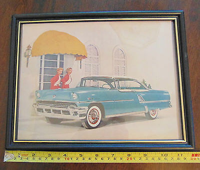 Large Original 1956 Mercury Montclair Advertisement in Frame