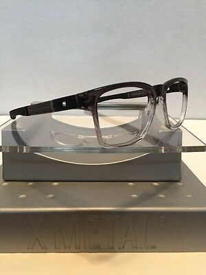 ••Oakley Catalyst Dark Ink Fade Black Icons Fast Free S/H••