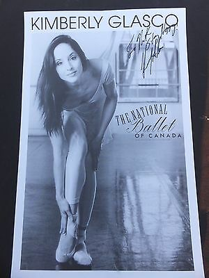 KIMBERLY GLASCO- - National Ballet Of Canada- Signed Vintage  Poster