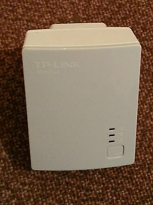 Single TP-Link TL-PA4010 500Mbps POWERLINE ETHERNET ADAPTER