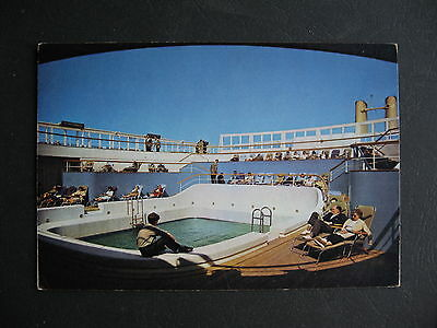 P&O Canberra Orient Lines First CLass Pool