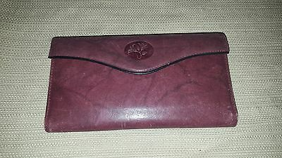 Lovely vintage Buxton burgundy red leather wallet