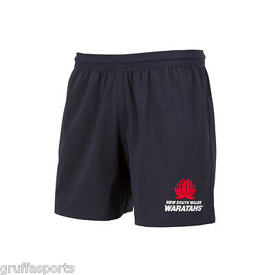 "NSW Waratahs 2017 Home Shorts Sizes 30"" - 44"" New South Wales CCC Super 18"