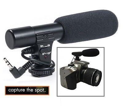 Mini Condenser Professional Microphone For Samsung NX1 EV-NX1