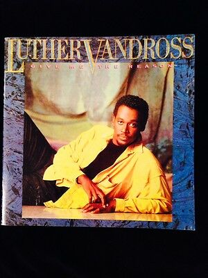 Luther Vandross-1987-Give Me The Reason Concert Tour Program Book