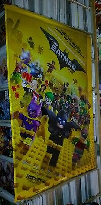 Lego batman 27x40 double sided ds original movie poster