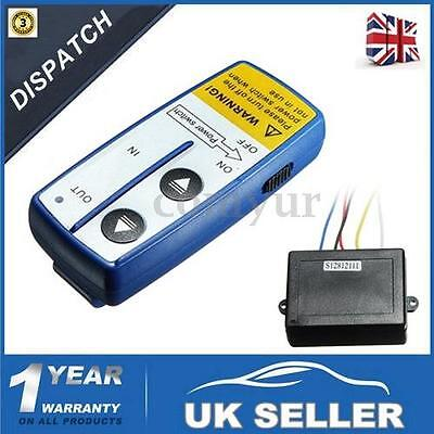 Electric Wireless Winch Remote Control Handset 12V 12 Volt For Truck Atv Suv -Uk
