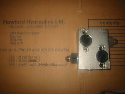 M+S Mp/mr Motor Kpdr210 Crossline Relief Valve Fits Danfoss Omp/omr - Rvxlemp