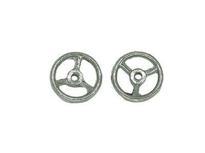 Dinky-Spares | Dinky 27a Tractor, 27d, Land Rover | Steering Wheel | White Metal