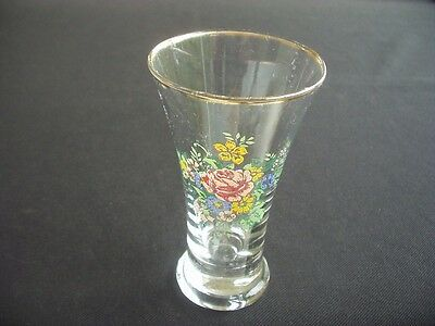 """Vintage Posy Vase ~Floral Decoration ~Traditional Flared Styling ~4.5"""" Tall"""