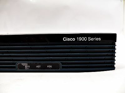 CISCO 1921/K9 Integrated Services Router 2x Gbit, 2x EHWIC 1921 K9 in OVP