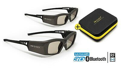 "2x 3D Brille ""Oxid Diamond"" für aktive 3D Full HD / HDR / 4K TV 