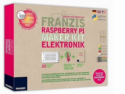 Franzis Raspberry Pi Maker Kit Elektronik Alter 14+ Franzis