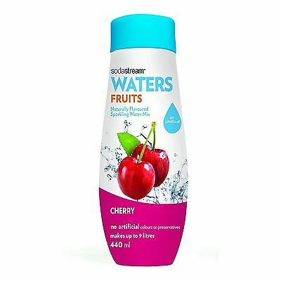 Sodastream Cherry Flavour 440ml Sparkling Water Home Drink Mix Syrup