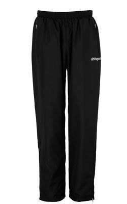 Uhlsport Womens Match Sports Training Pants Trousers Tracksuit Bottoms Black ...